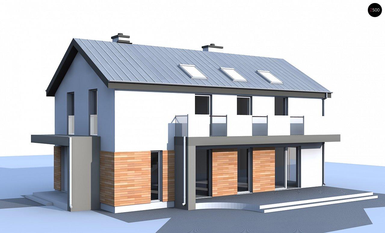 Версия проекта Zx60 без гаража. - фото 2