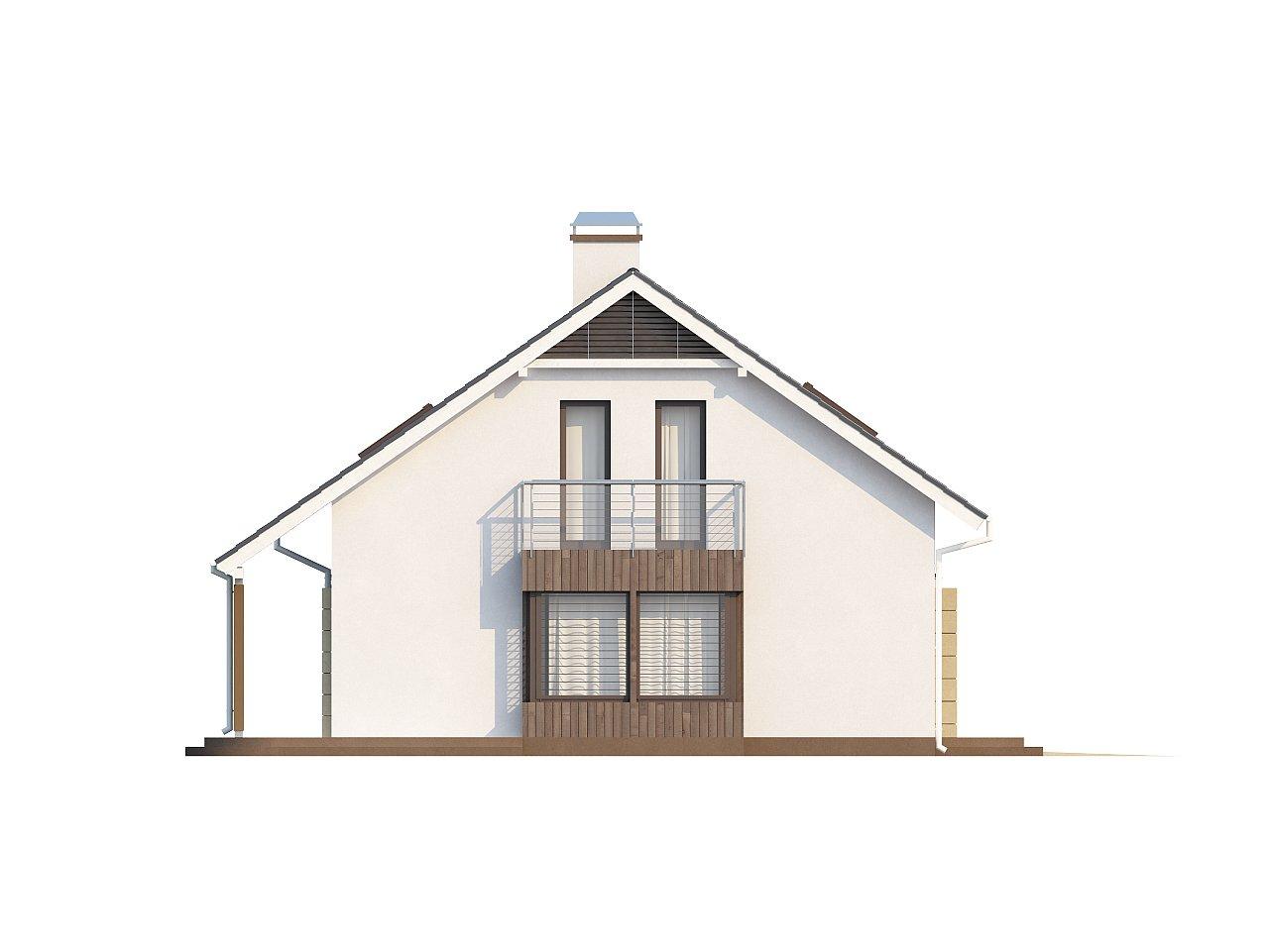 Выгодный в строительстве и эксплуатации дом с дополнительной спальней на первом этаже. - фото 5