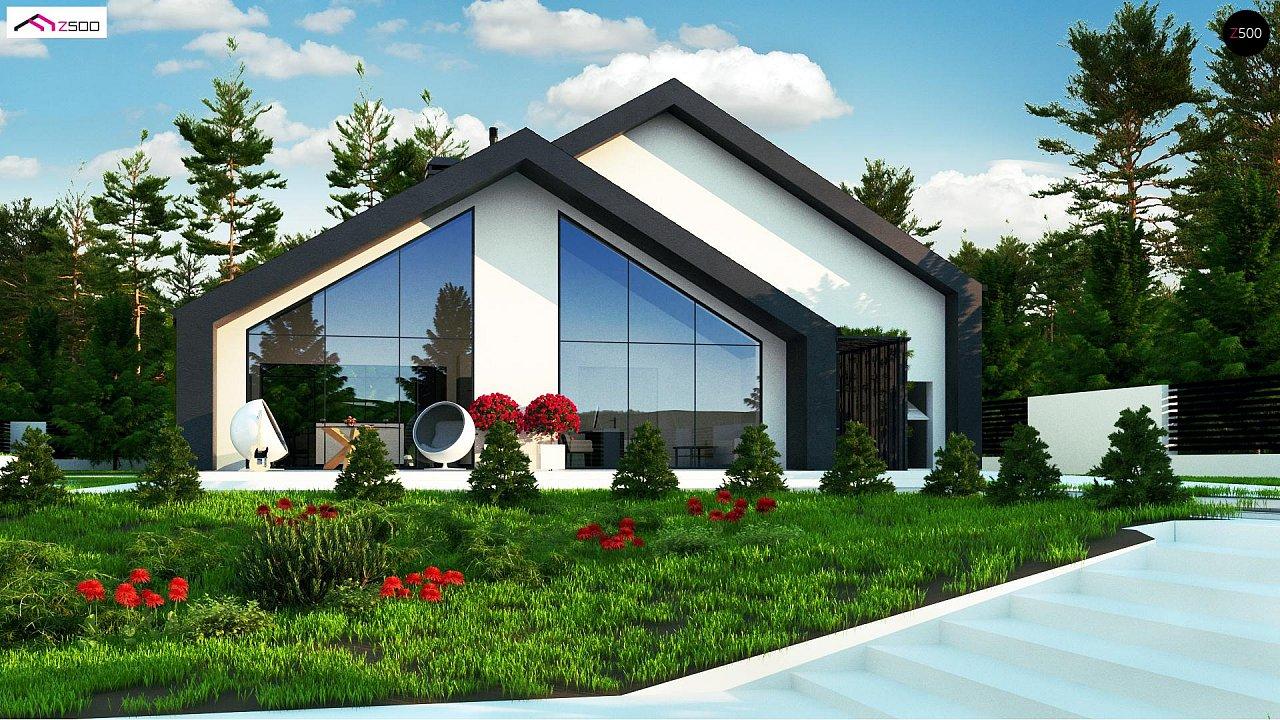 Современный мансардный дом со вторым светом - фото 4