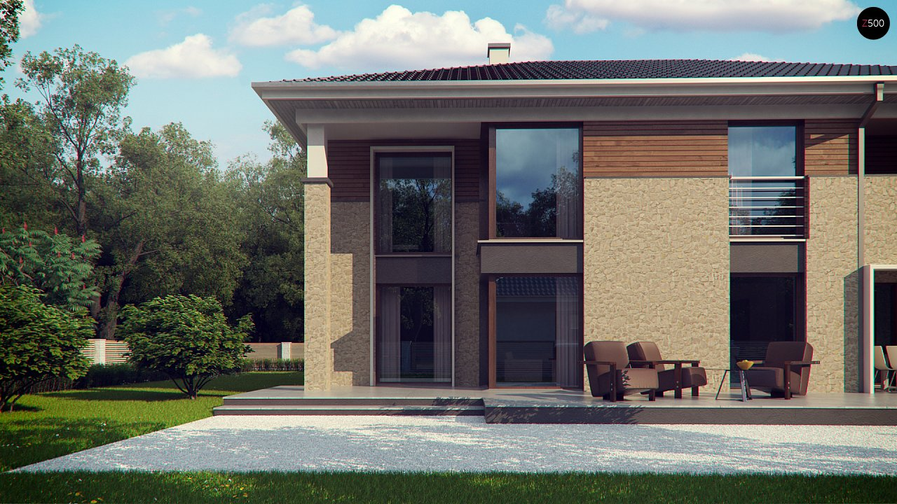 Комфортная двухэтажная усадьба с гаражом на 2 авто, с сауной на 1 этаже 2