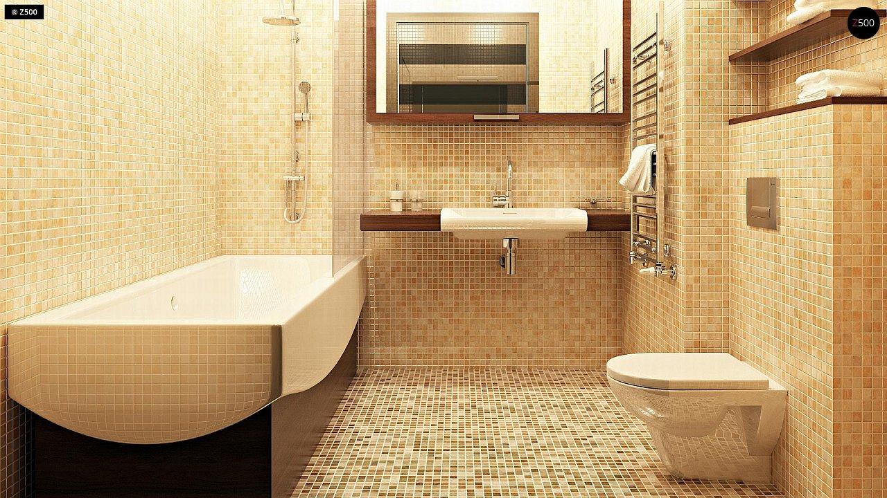 Компактные дома близнецы в современном стиле с уютным интерьером. 11
