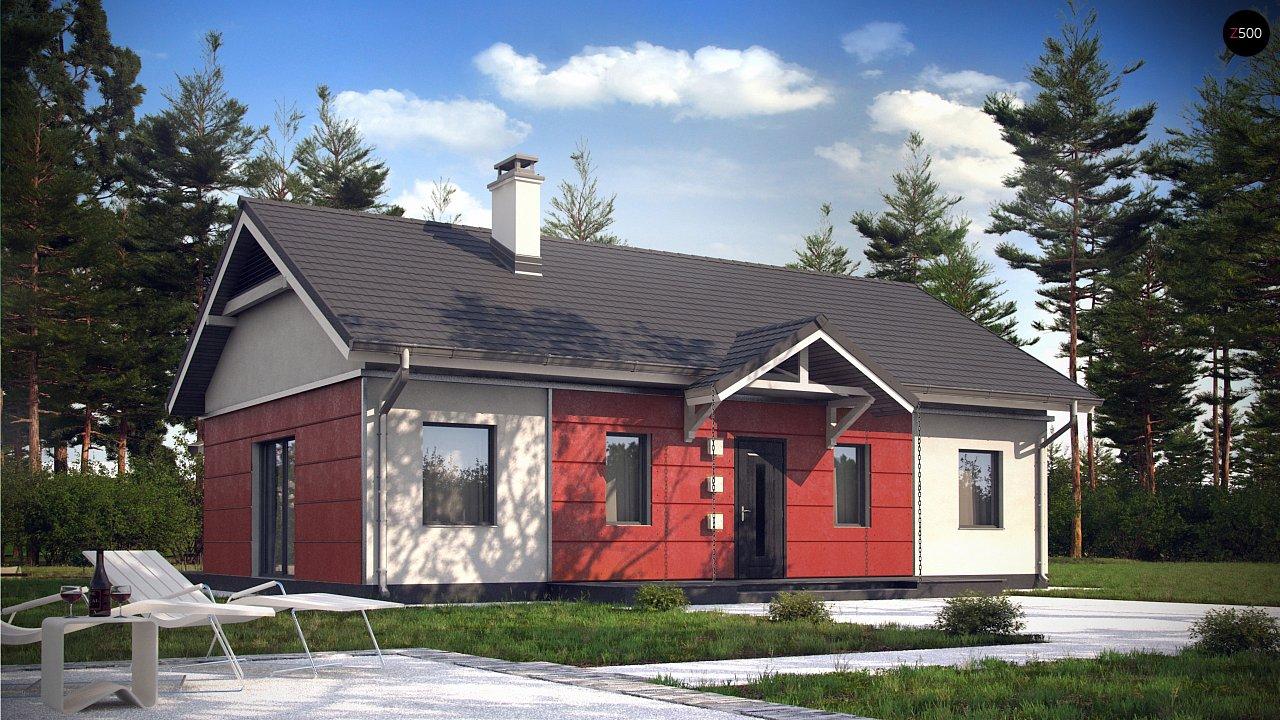 Аккуратный одноэтажный дом в классическом стиле. - фото 4
