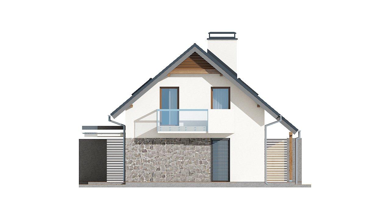 Простой и функциональный двухсемейный дом с отдельными входами. - фото 17