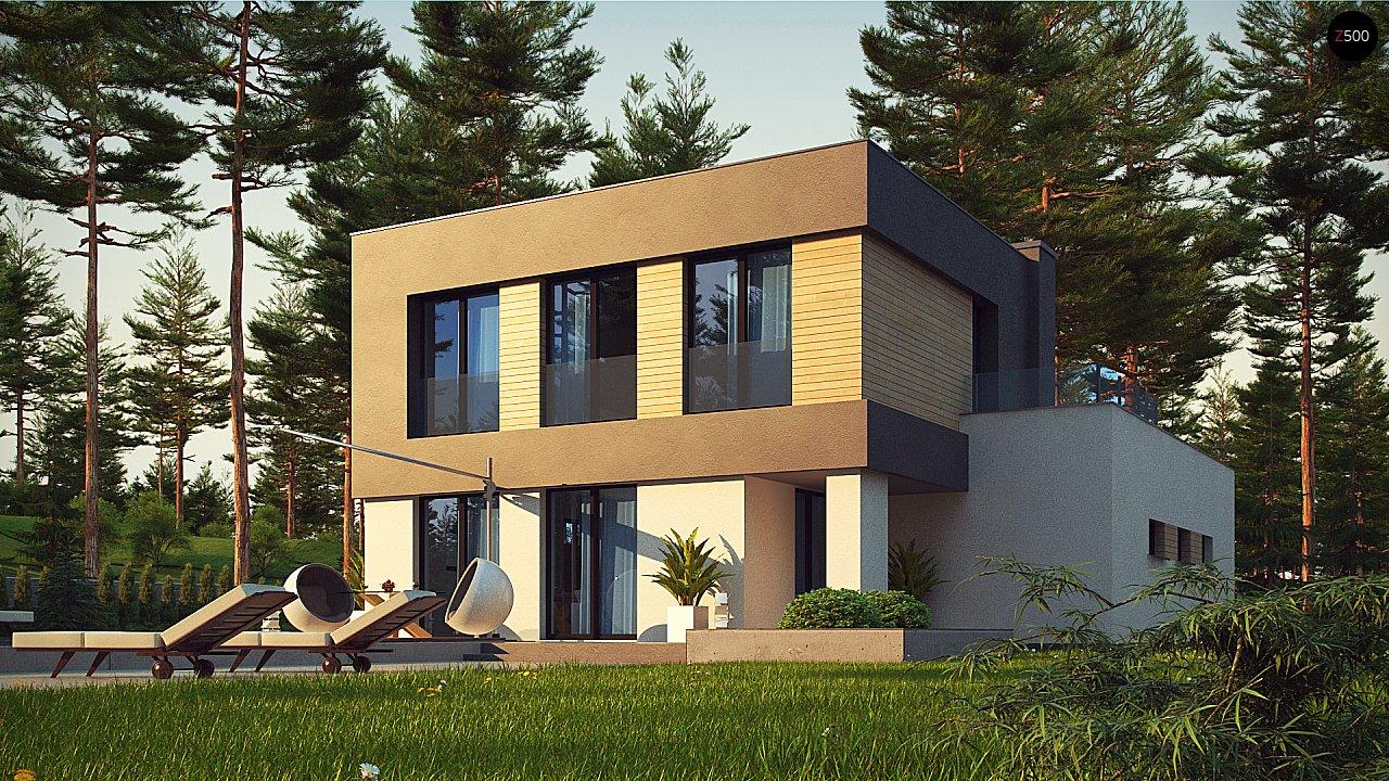 Двухэтажный дом с гаражом на две машины 6