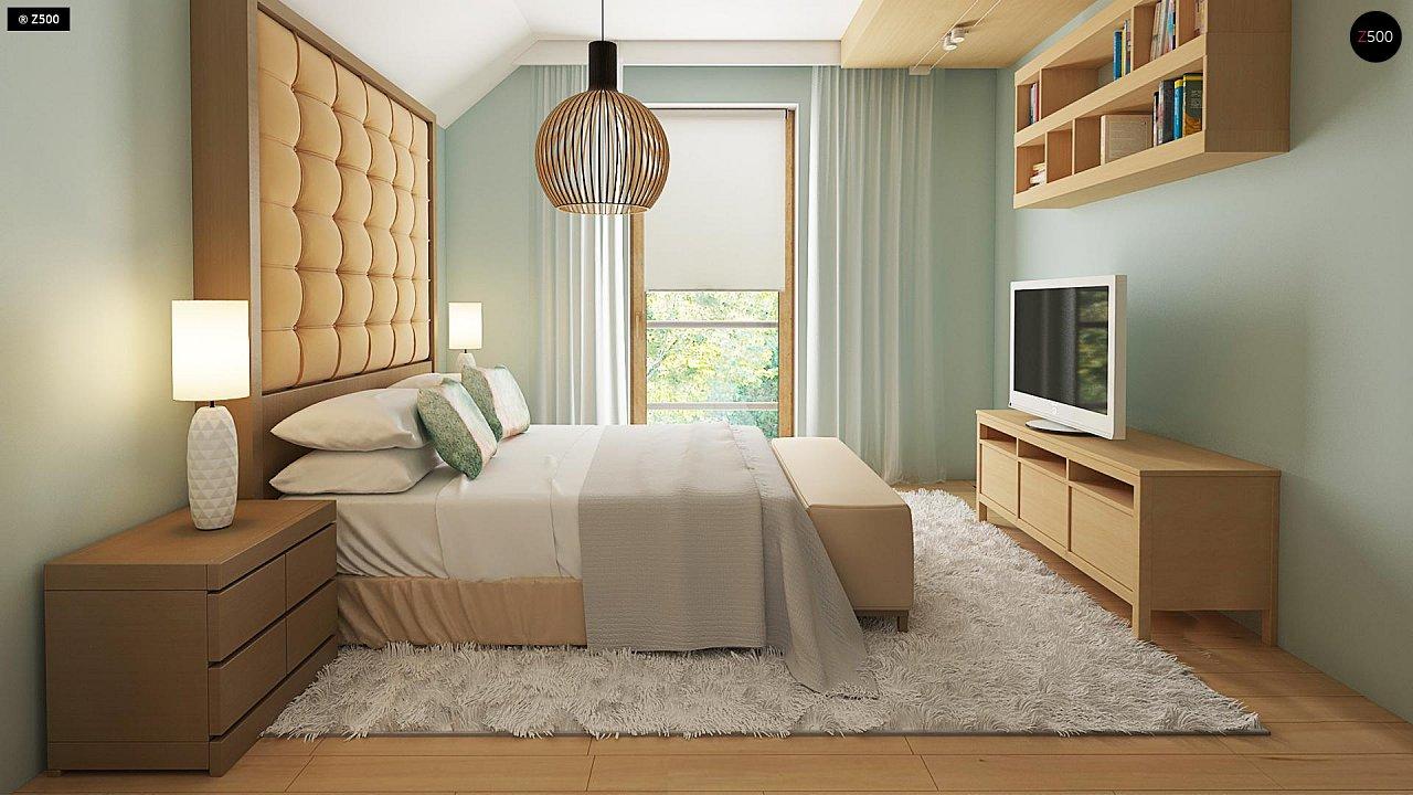 Новый вариант проекта Z38 - уютного двухэтажного дома. 9