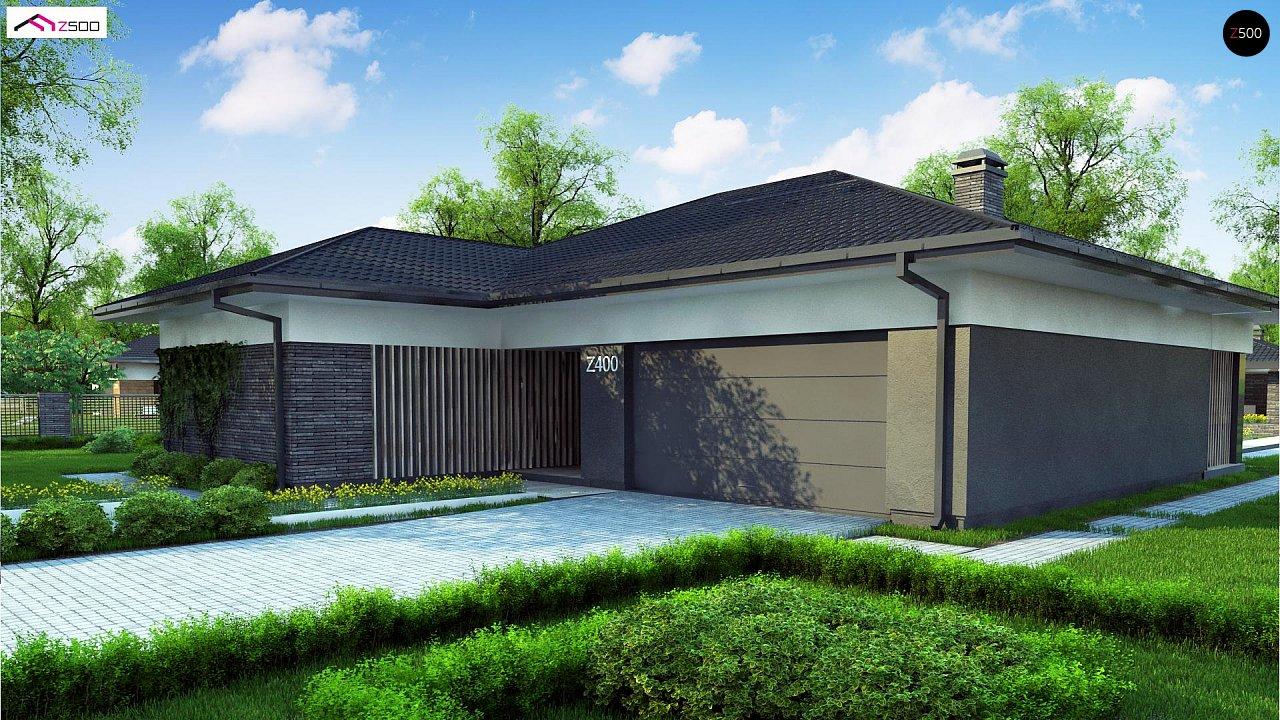 Проект стильного одноэтажного дома в традиционном стиле - фото 3