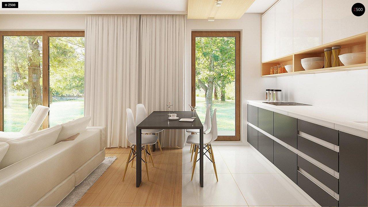 Новый вариант проекта Z38 - уютного двухэтажного дома. 7