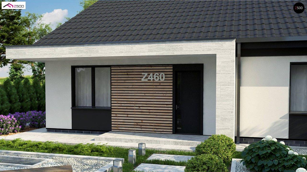 Проект дома с современным дизайном и одноуровневым функциональным интерьером. - фото 6