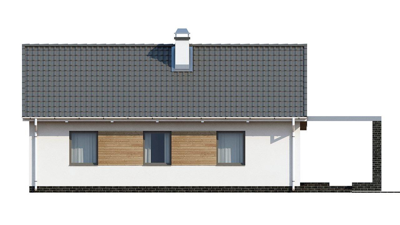 Маленький и функциональный одноэтажный дом, выгодный в строительстве и эксплуатации. - фото 12