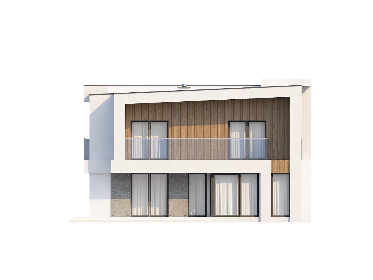 Просторный дом современного дизайна с гаражом и кабинетом на первом этаже. 4