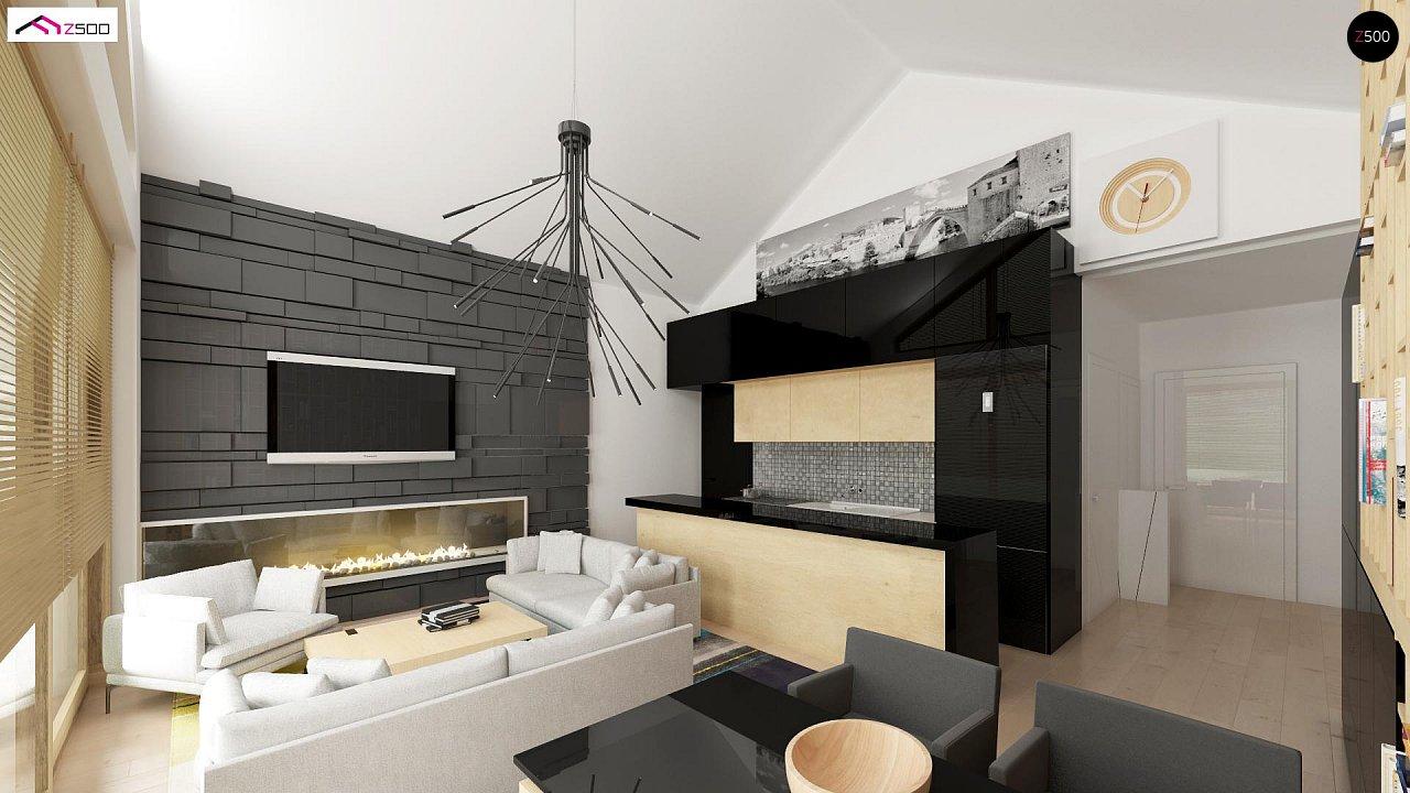 Функциональный компактный дом интересного дизайна. - фото 5