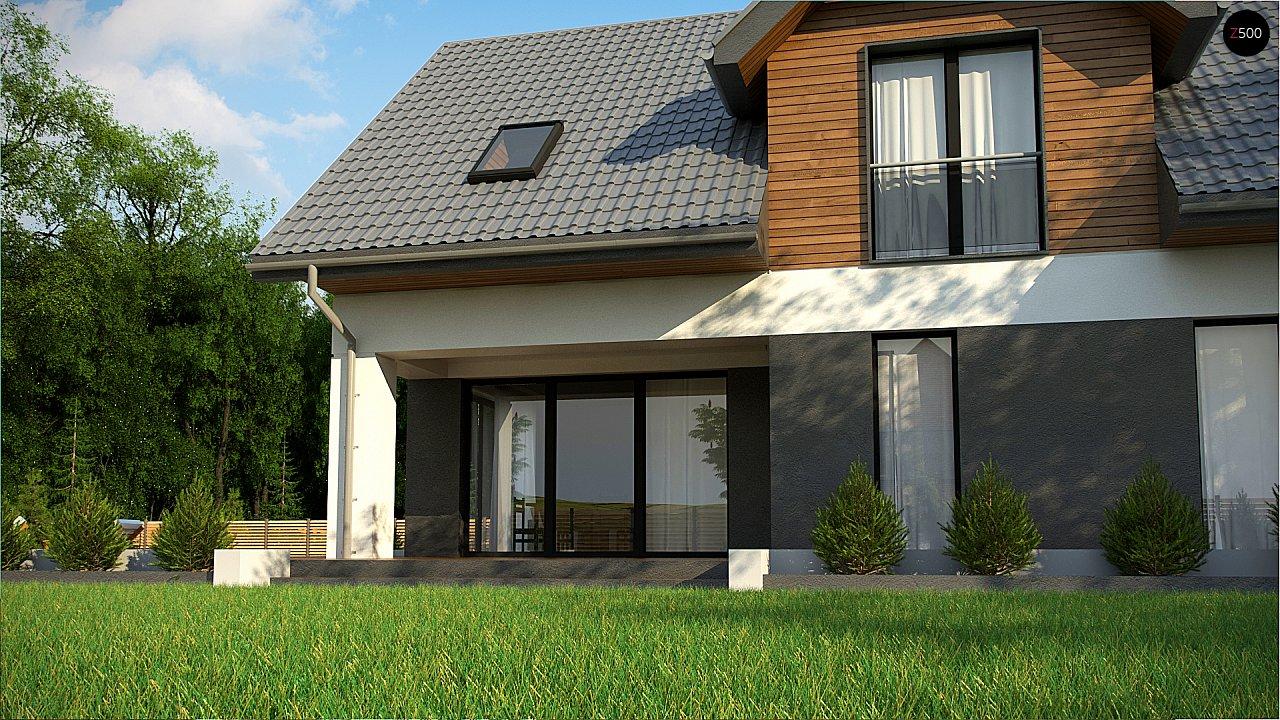 Современный жилой дом с гаражом 5