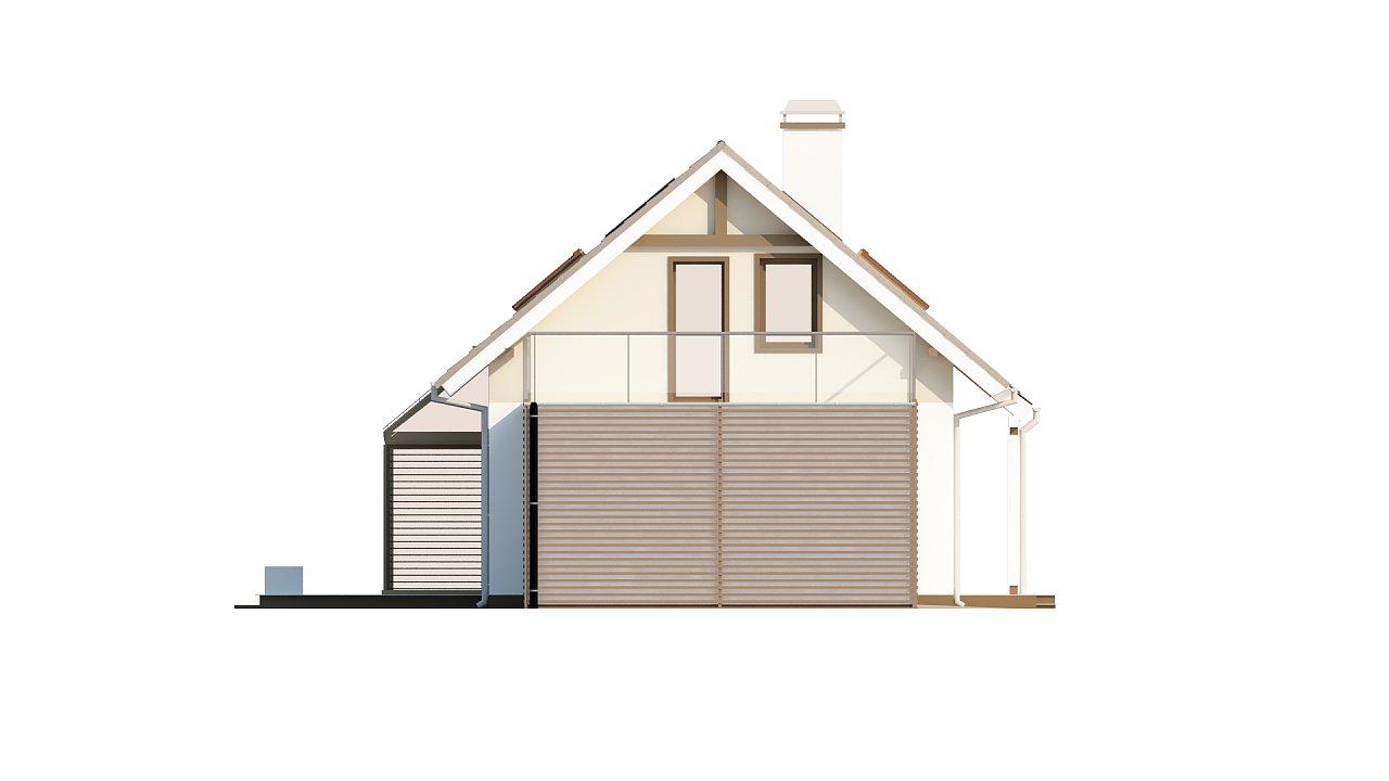 Уютный дом с террасой над гаражом, с возможностью обустройства зимнего сада. - фото 35