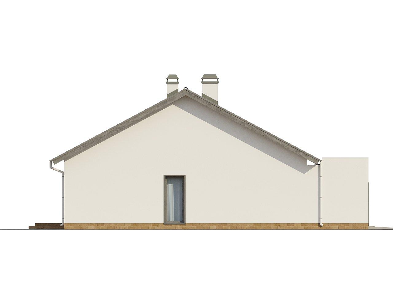 Дом традиционной формы с современными архитектурными дополнениями. Свободная планировка мансарды и антресоль над гостиной. 23