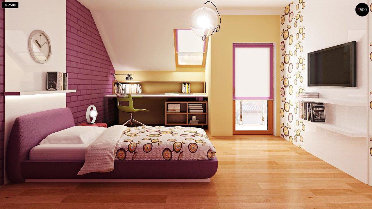 Проект стильного, функционального и недорогого двухсемейного дома. 10