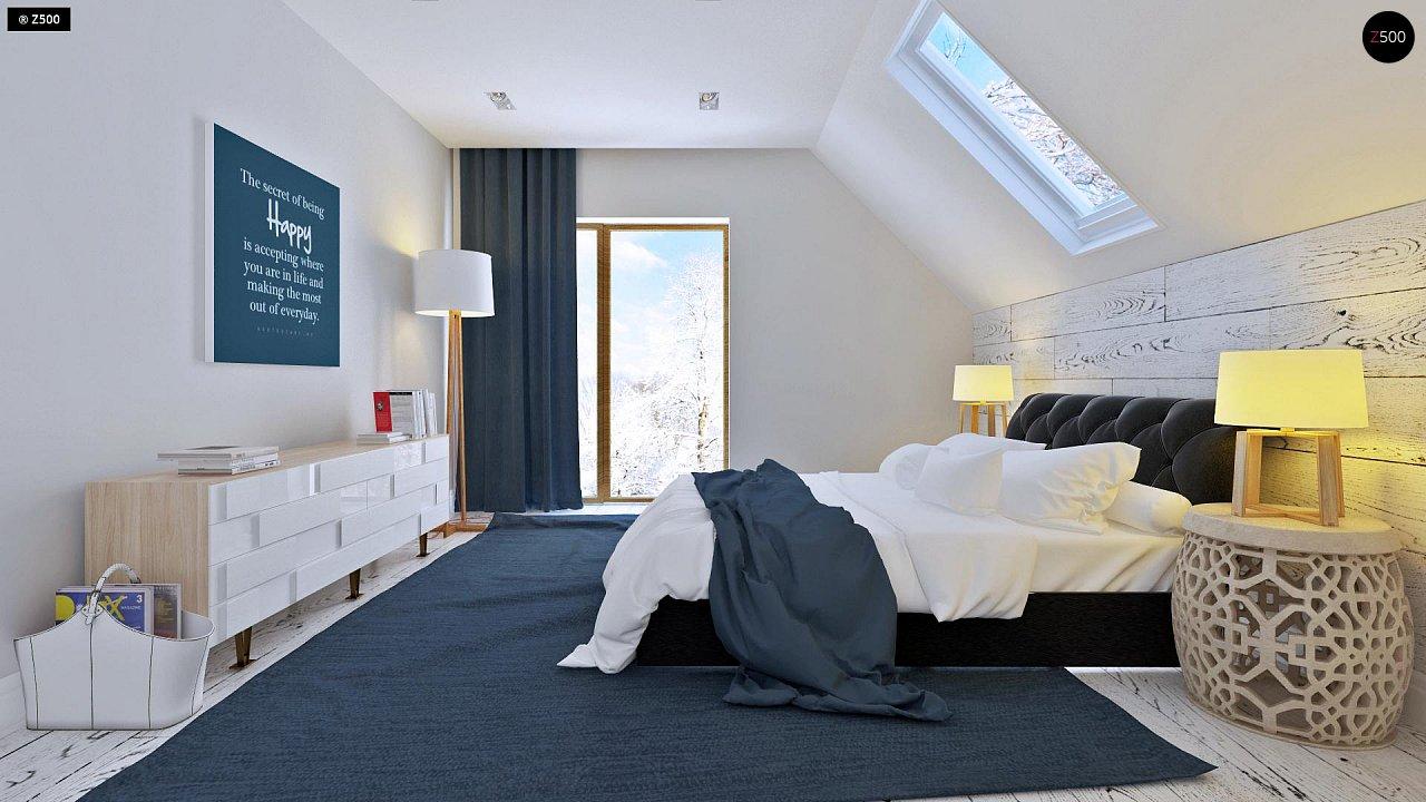 Практичный и уютный дом, идеально подходящий для вытянутого участка. 8