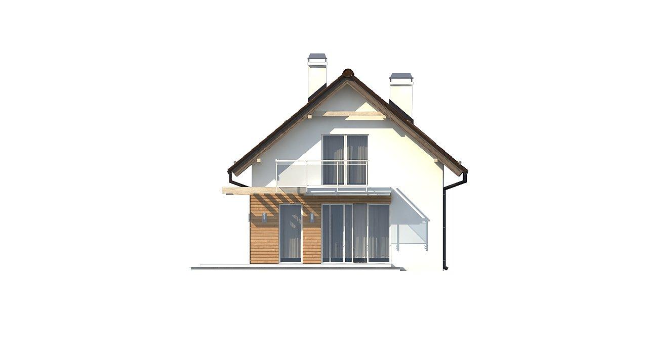 Компактный, аккуратный и стильный дом с двумя спальнями. - фото 17