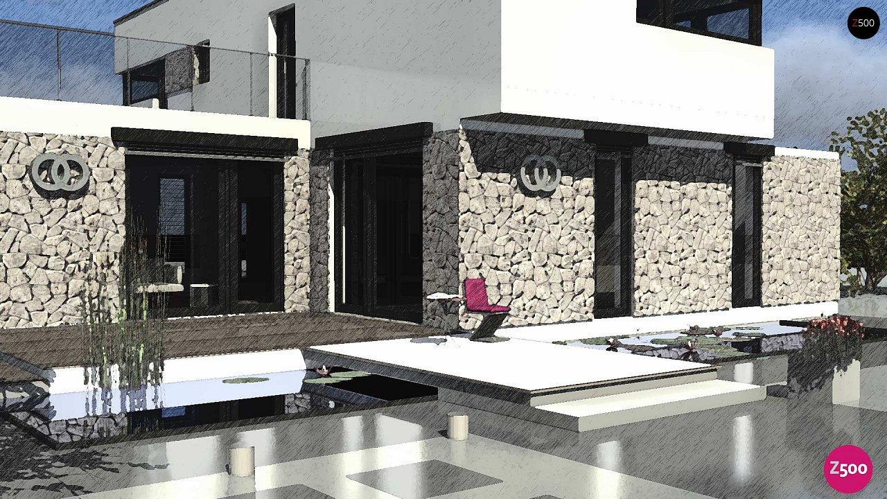 Комфортабельный особняк в стиле модерн элегантного дизайна. 7