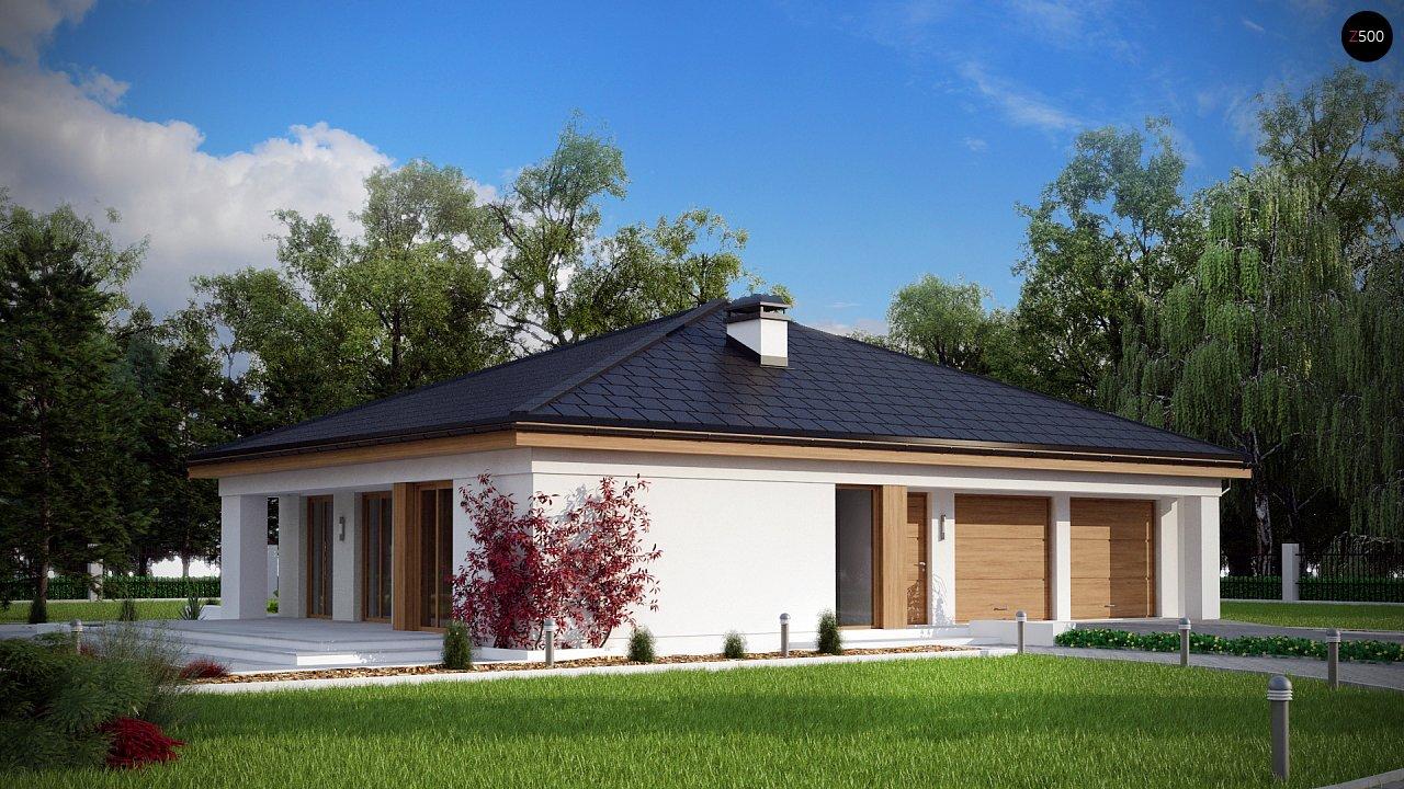 Практичный одноэтажный дом с четырьмя спальнями и гаражом. 1