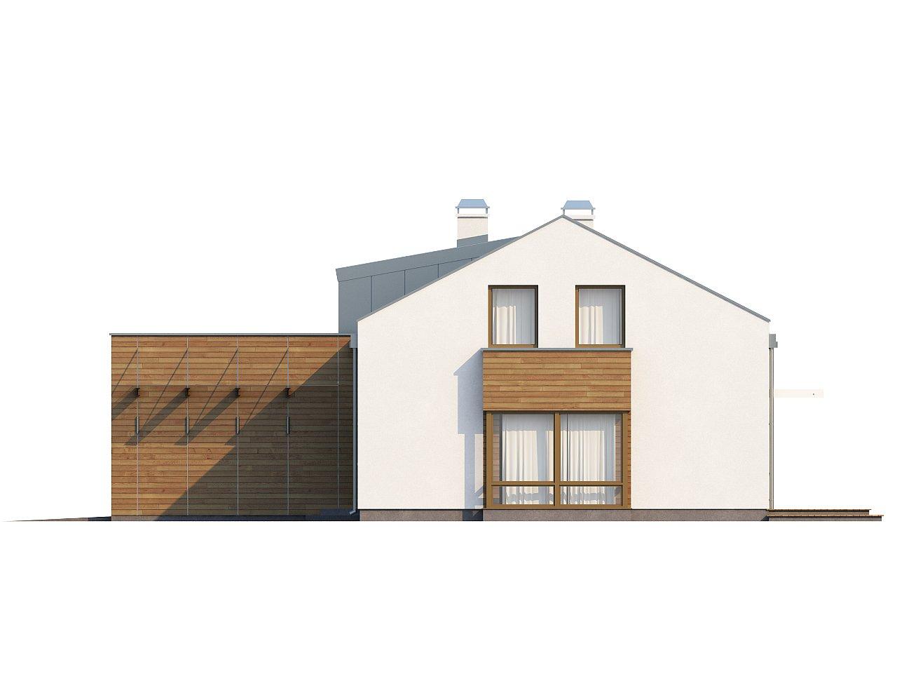 Элегантный просторный дом современного дизайна с пятью спальнями и террасой на втором этаже. - фото 6