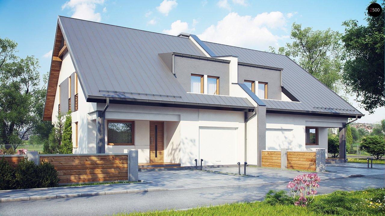 Проект домов близнецов для двух дружественных семей. - фото 1