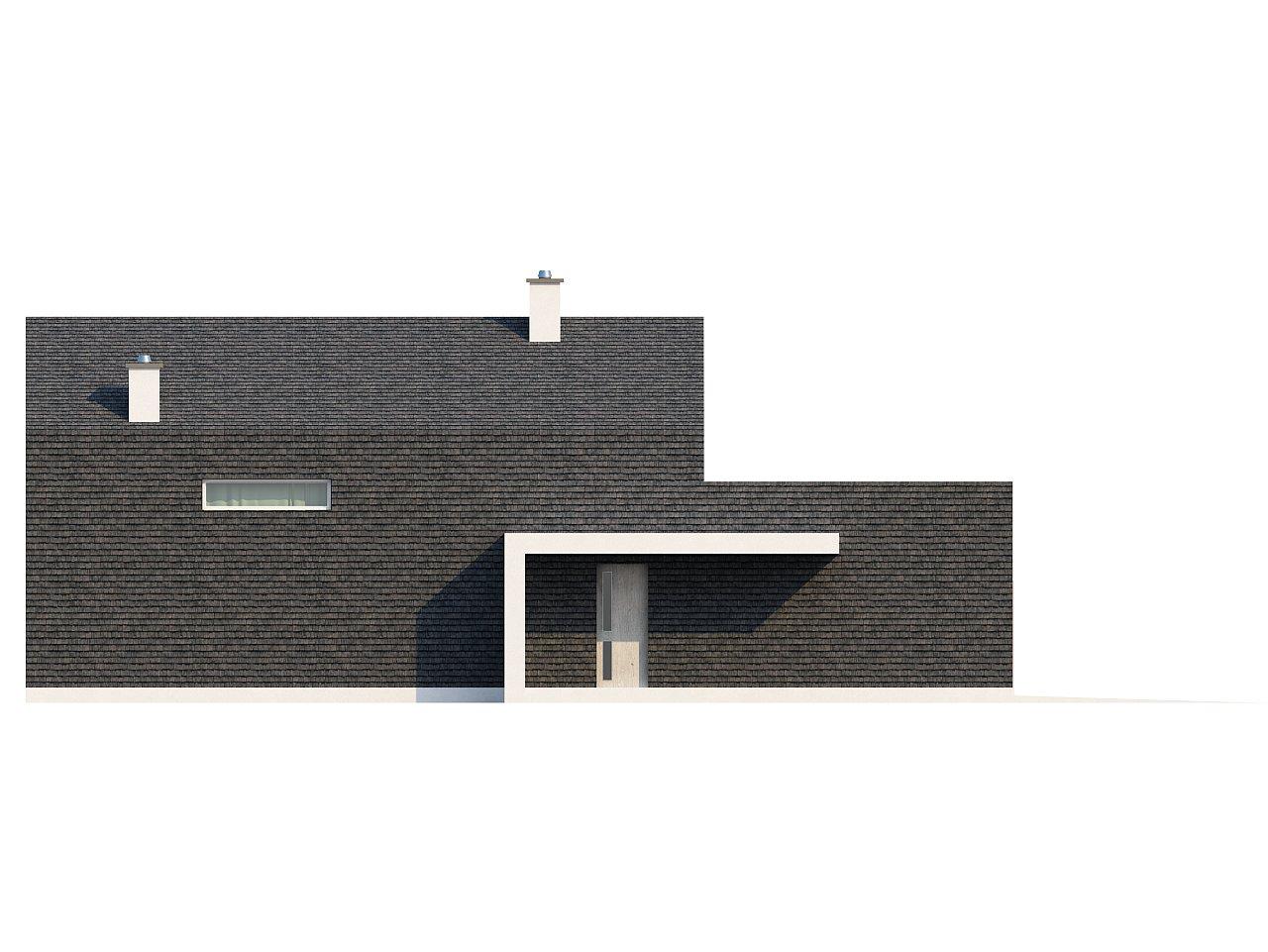 Современный эксклюзивный дом с каменной облицовкой, подходящий для узкого участка. 15