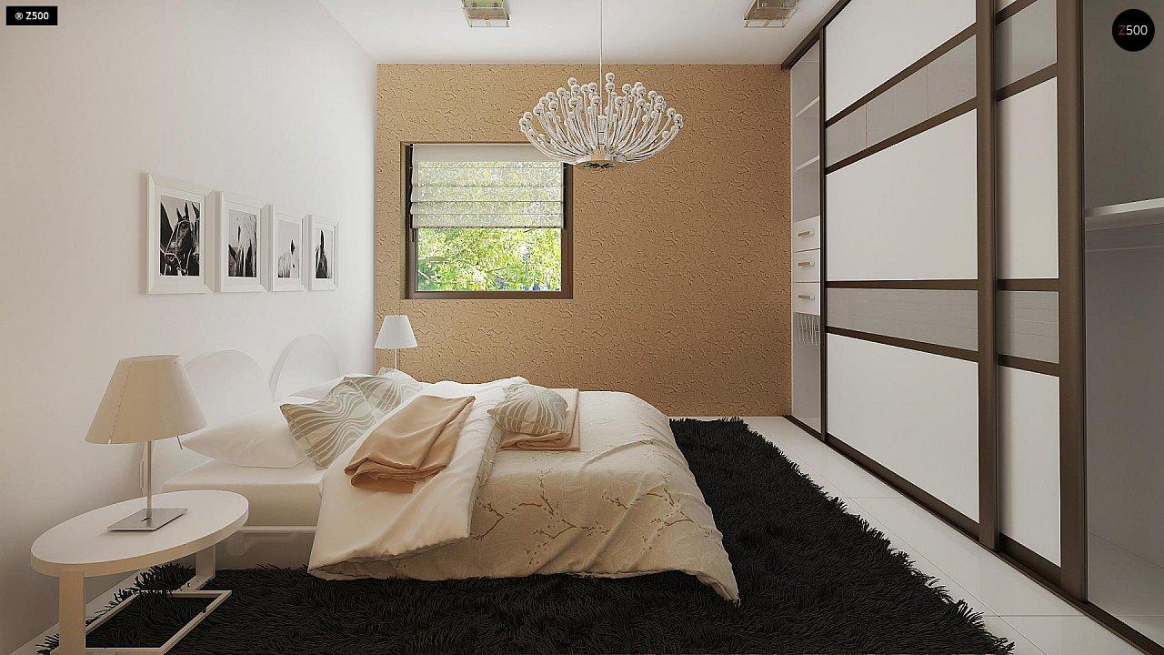 Маленький одноэтажный дом, оснащенный всем необходимым для круглогодичного проживания. 8