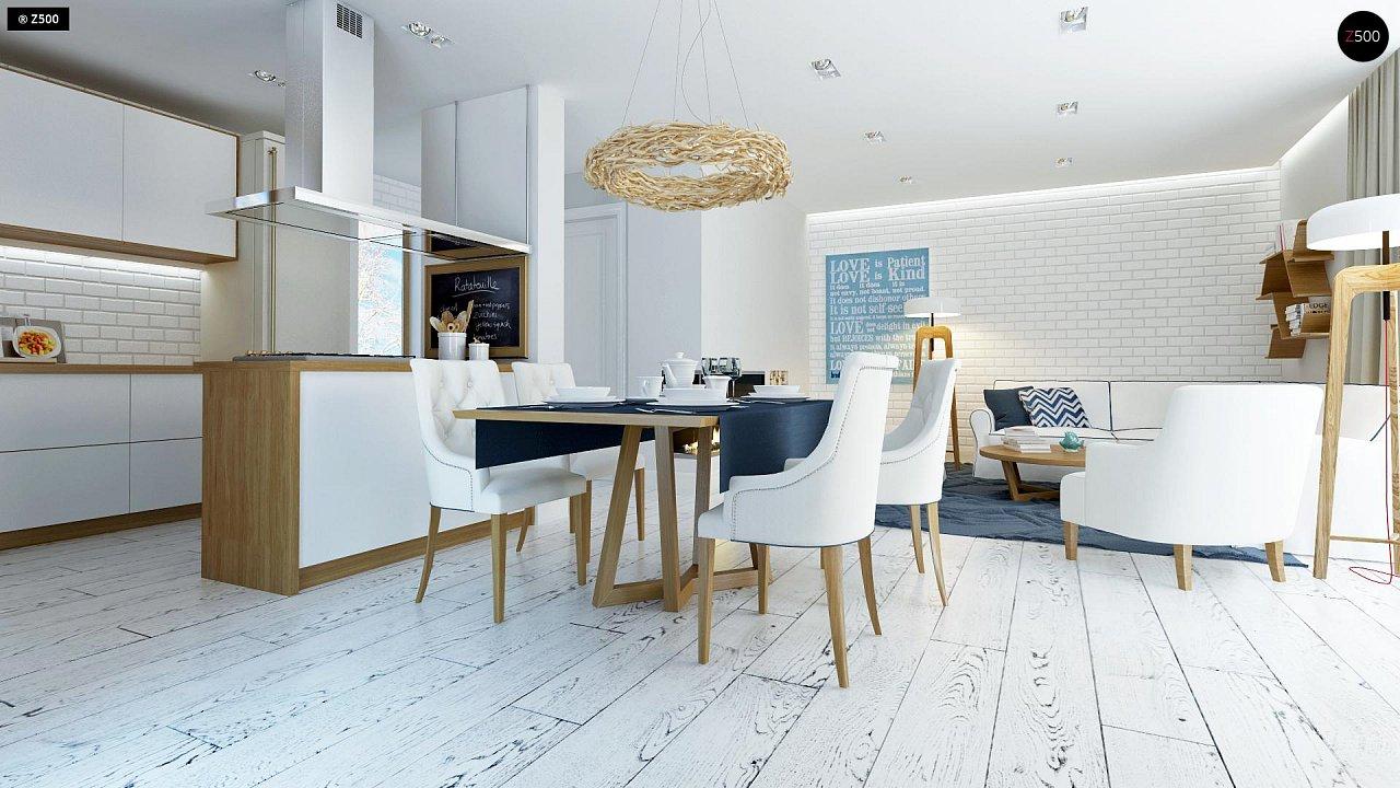 Практичный и уютный дом, идеально подходящий для вытянутого участка. 6