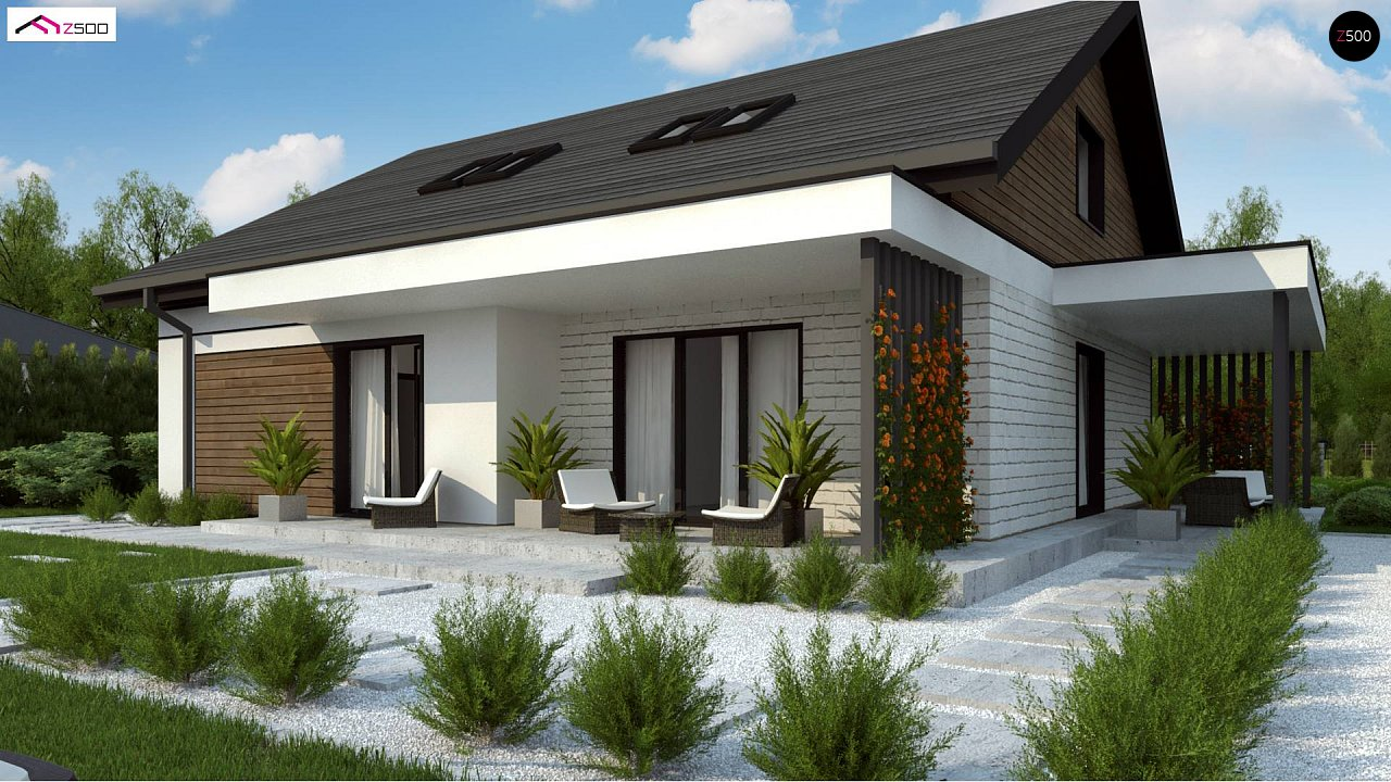 Комфортный просторный дом с одноуровневой планировкой. - фото 6