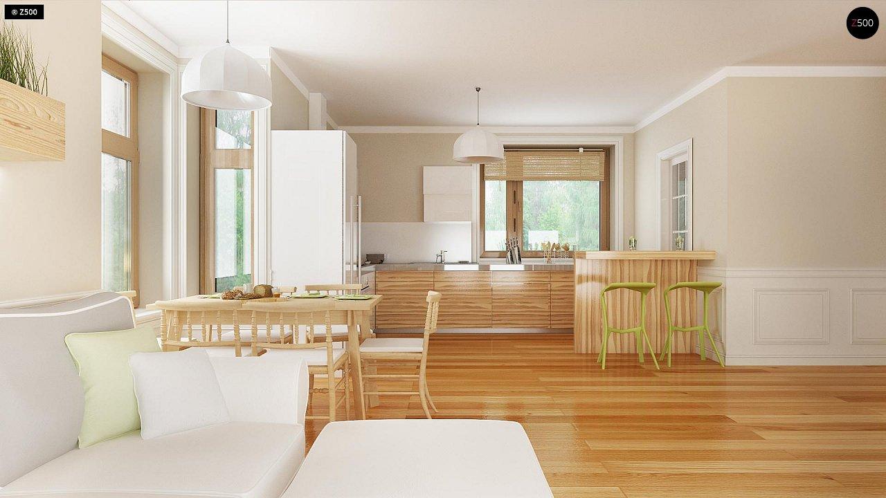 Проект традиционного дома с возможностью адаптации чердачного помещения. 6