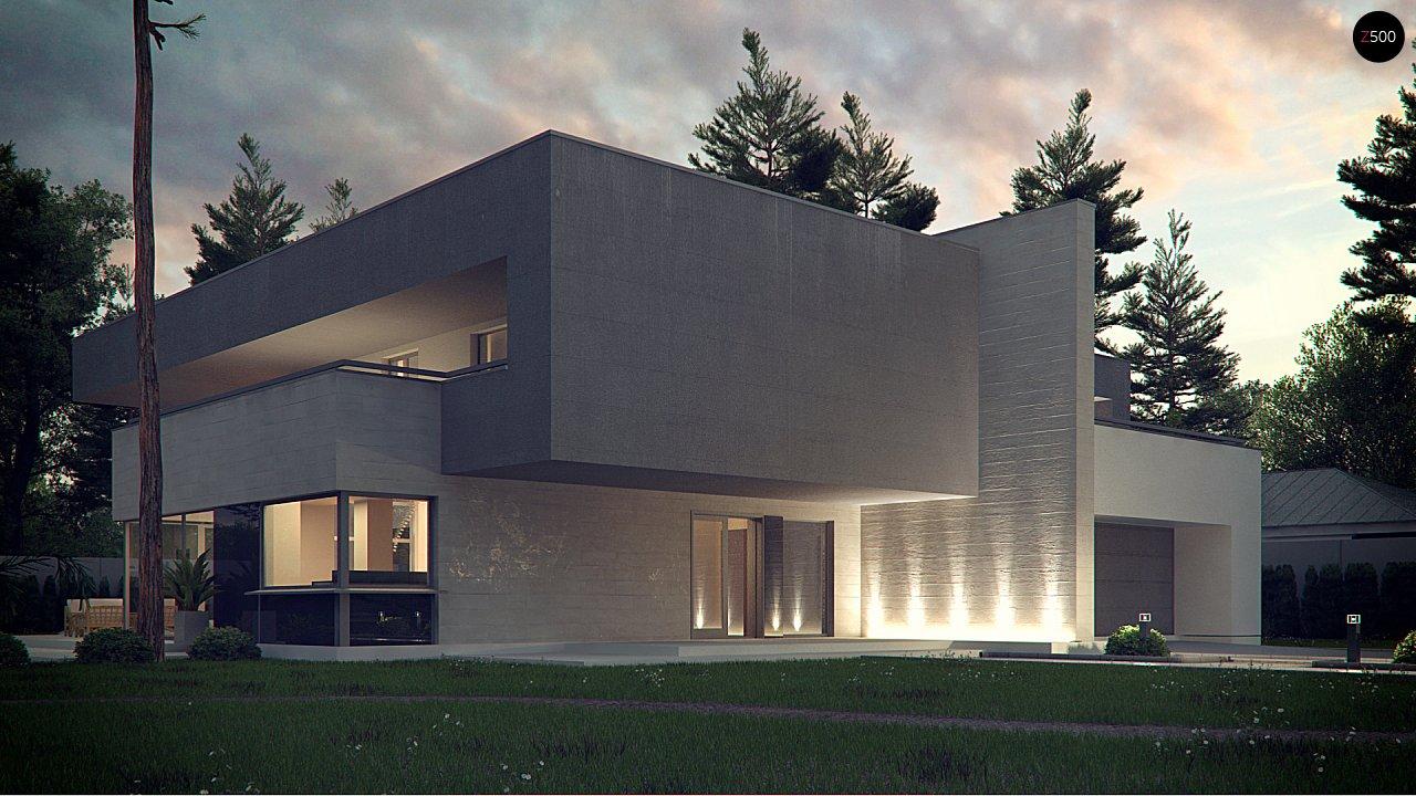 Комфортный современный двухэтажный особняк с сауной на втором этаже - фото 2