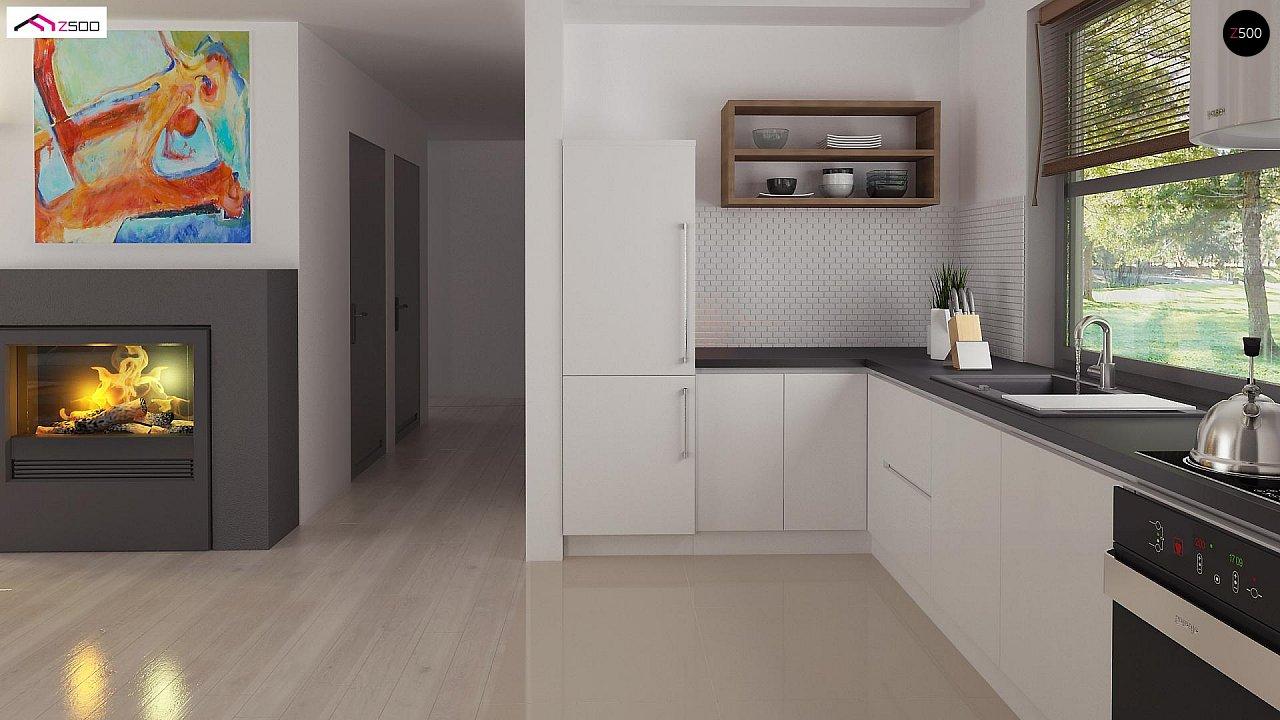 Проект компактного и функционального одноэтажного дома 12
