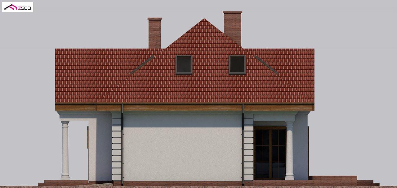 Проект дома в классическом стиле с роскошной мансардой и стильным экстерьером. - фото 19