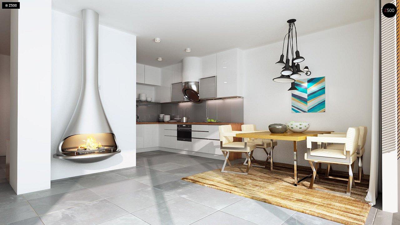 Дома близнецы стильного современного дизайна. 5