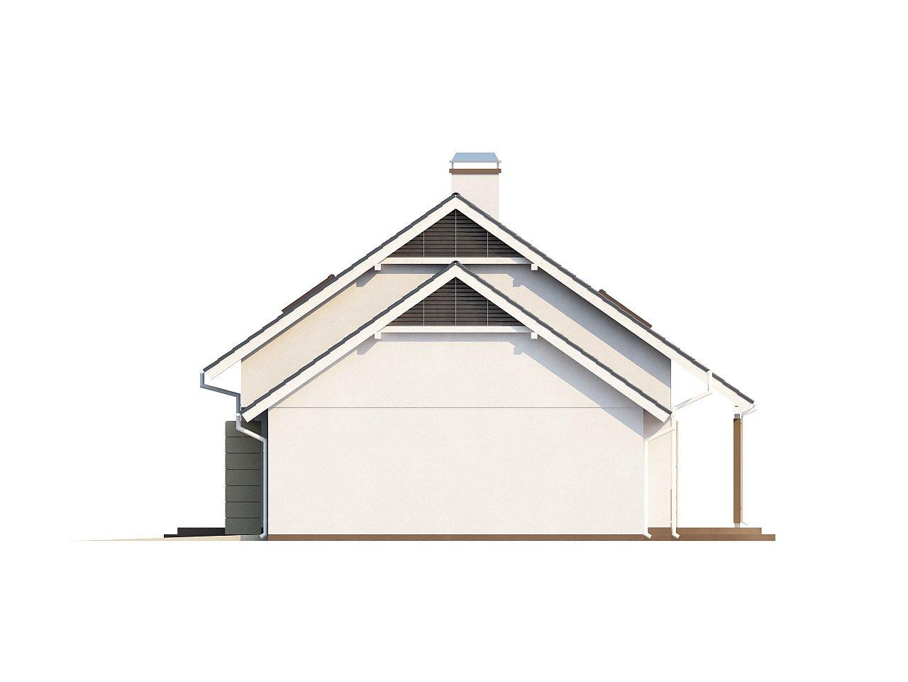 Выгодный в строительстве и эксплуатации дом с дополнительной спальней на первом этаже. - фото 6