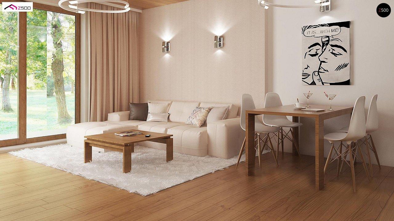 Выгодный и простой в строительстве дом полезной площадью 100 м2. 5