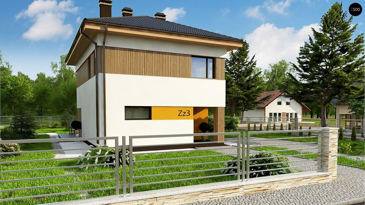 Компактный проект двухэтажного дома 3