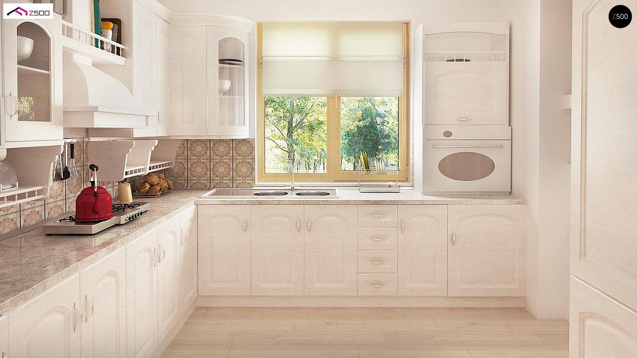 Зеркальный вариант увеличенного дома Z2 - фото 7