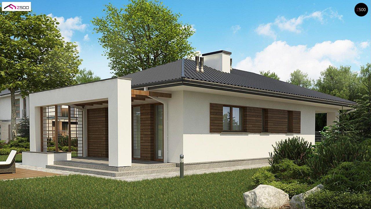 Одноэтажный функциональный дом для небольшой семьи - фото 4