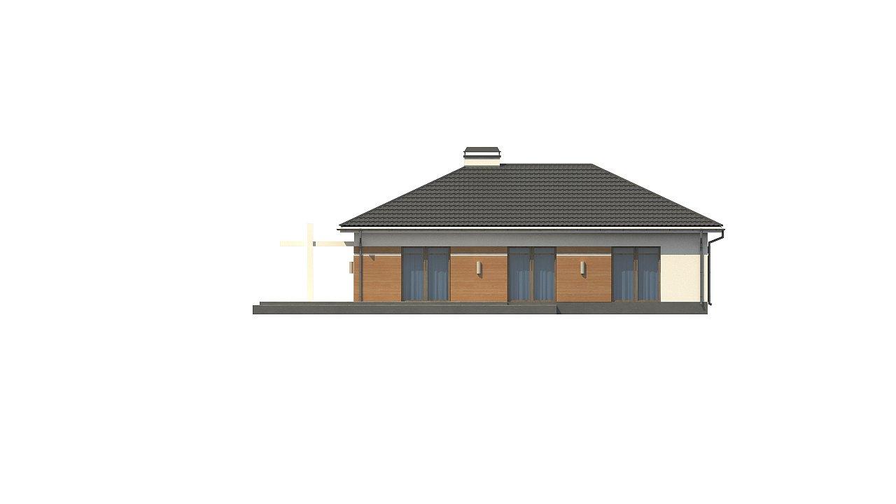 Классический вариант реализации фасадов на основе проекта Z208. - фото 10