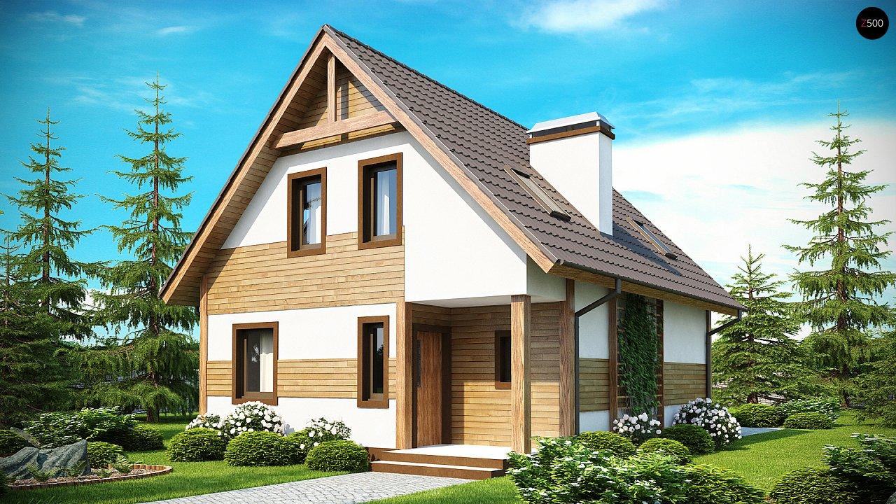 Предложение выгодного и практичного дома, подходящего для удлиненного или, наоборот, неглубокого участка. 2