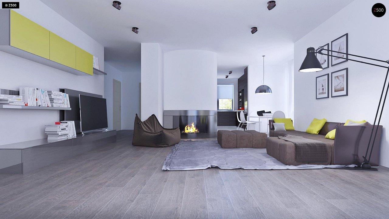 Проект функционального и удобного дома с комнатой над гаражом. 5