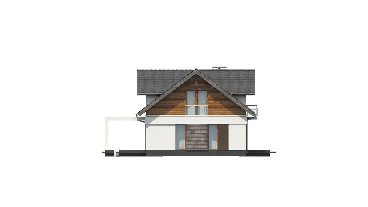 Практичный двухквартирный дом с общими входом и техническим помещением. 12