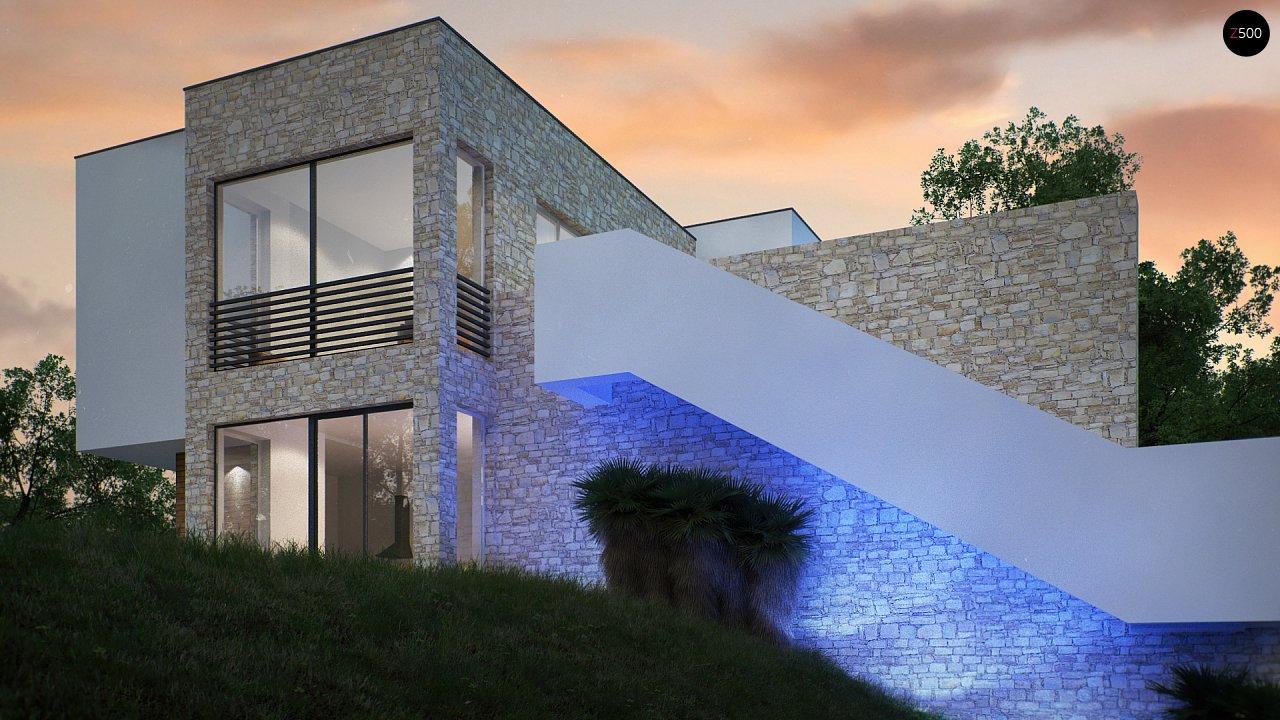 Трехэтажная современная резиденция с террасами и бассейном . 4