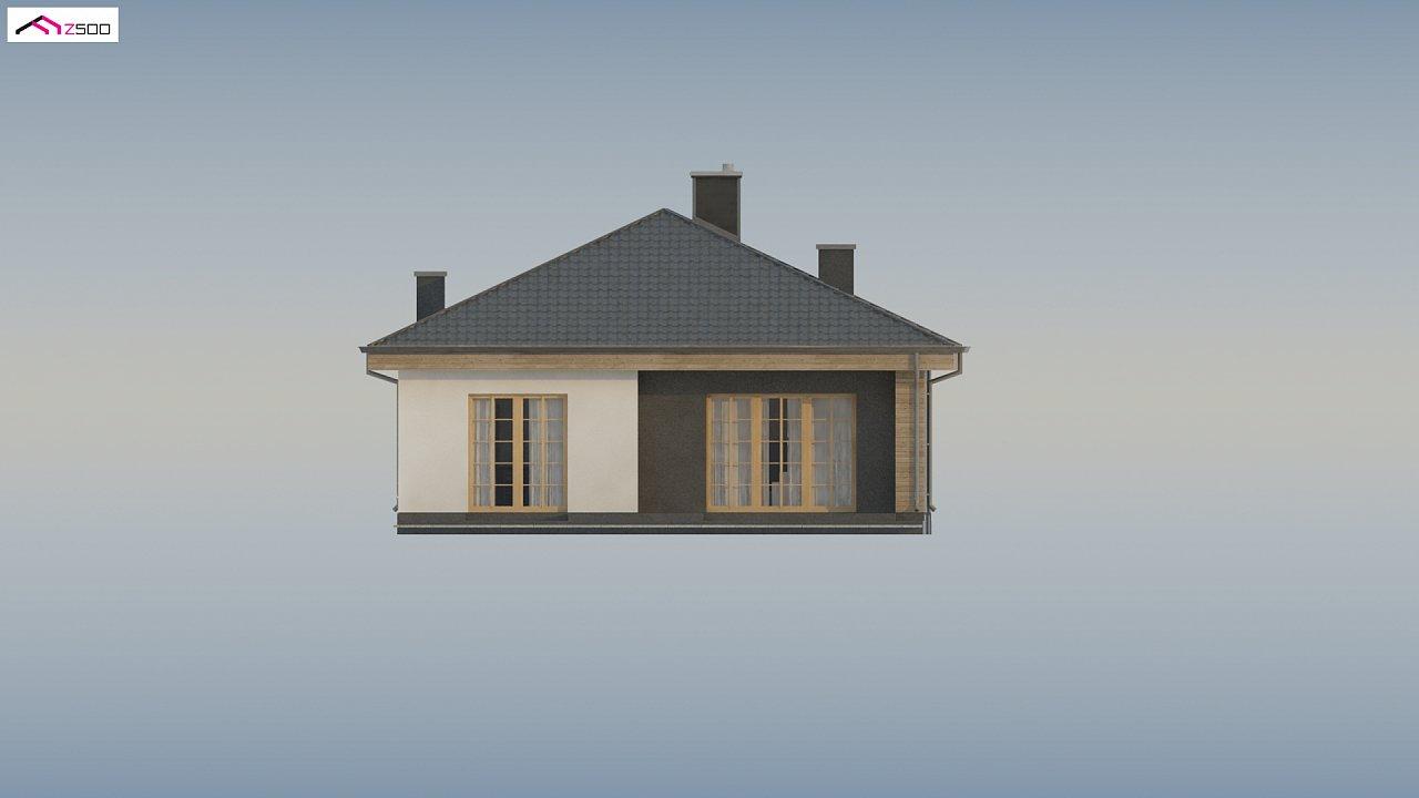 Красивый одноэтажный дом с удобной планировкой 13