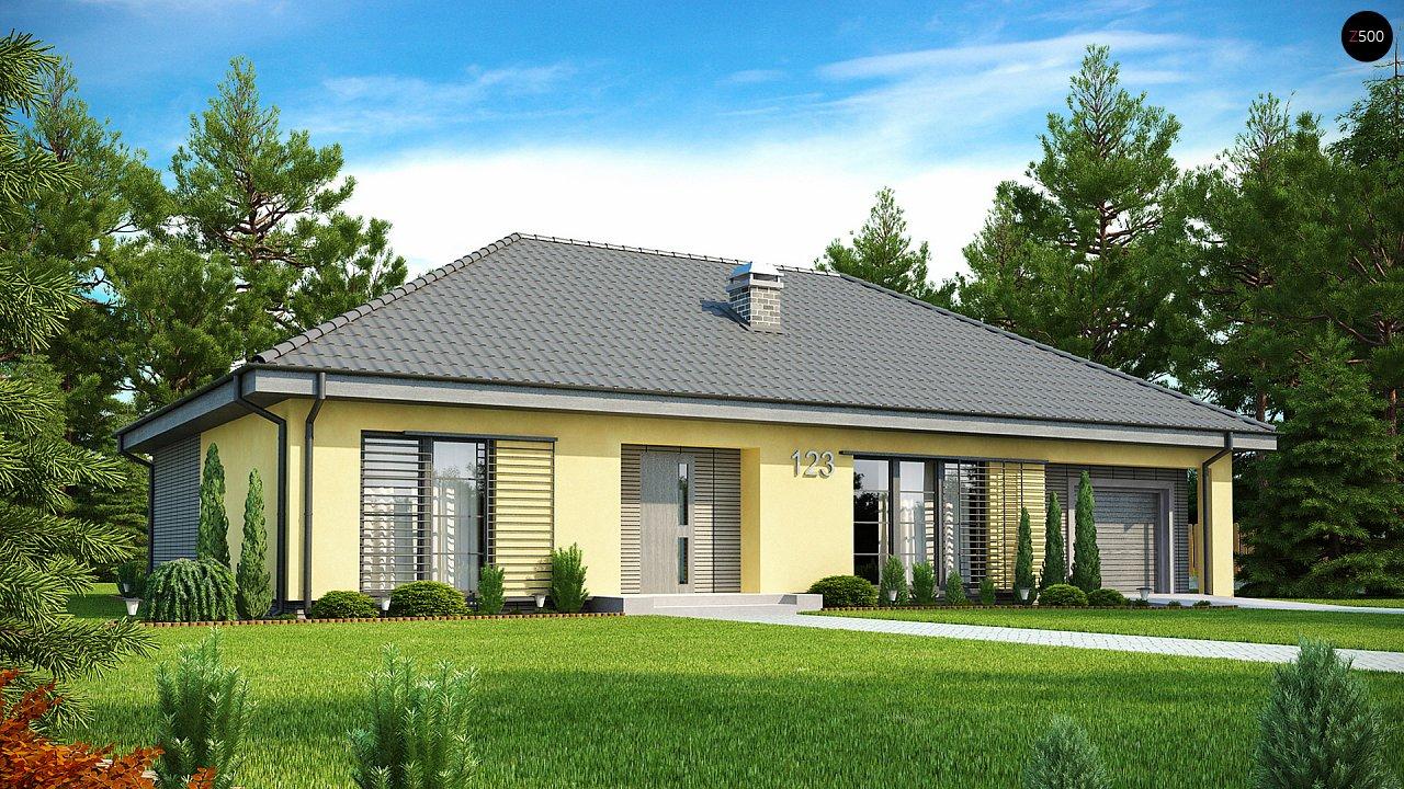 Одноэтажный дом традиционного характера с тремя удобными спальнями и встроенным гаражом. - фото 1