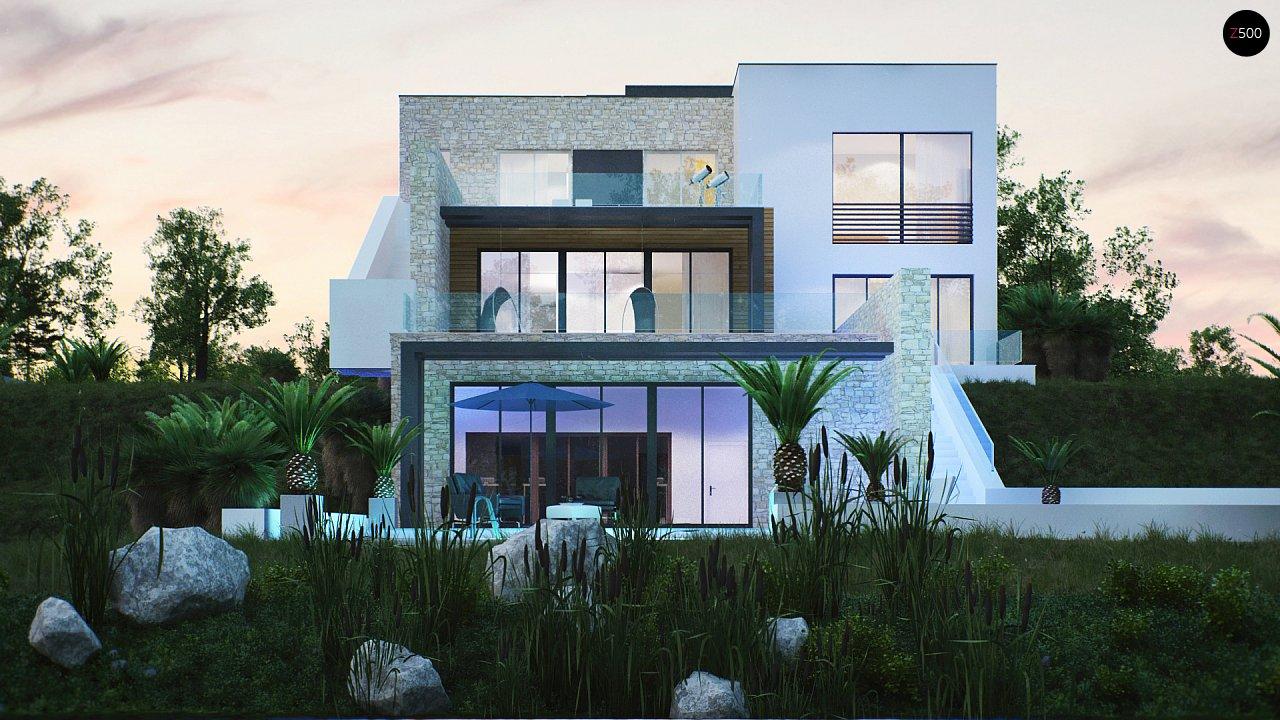 Трехэтажная современная резиденция с террасами и бассейном . 7