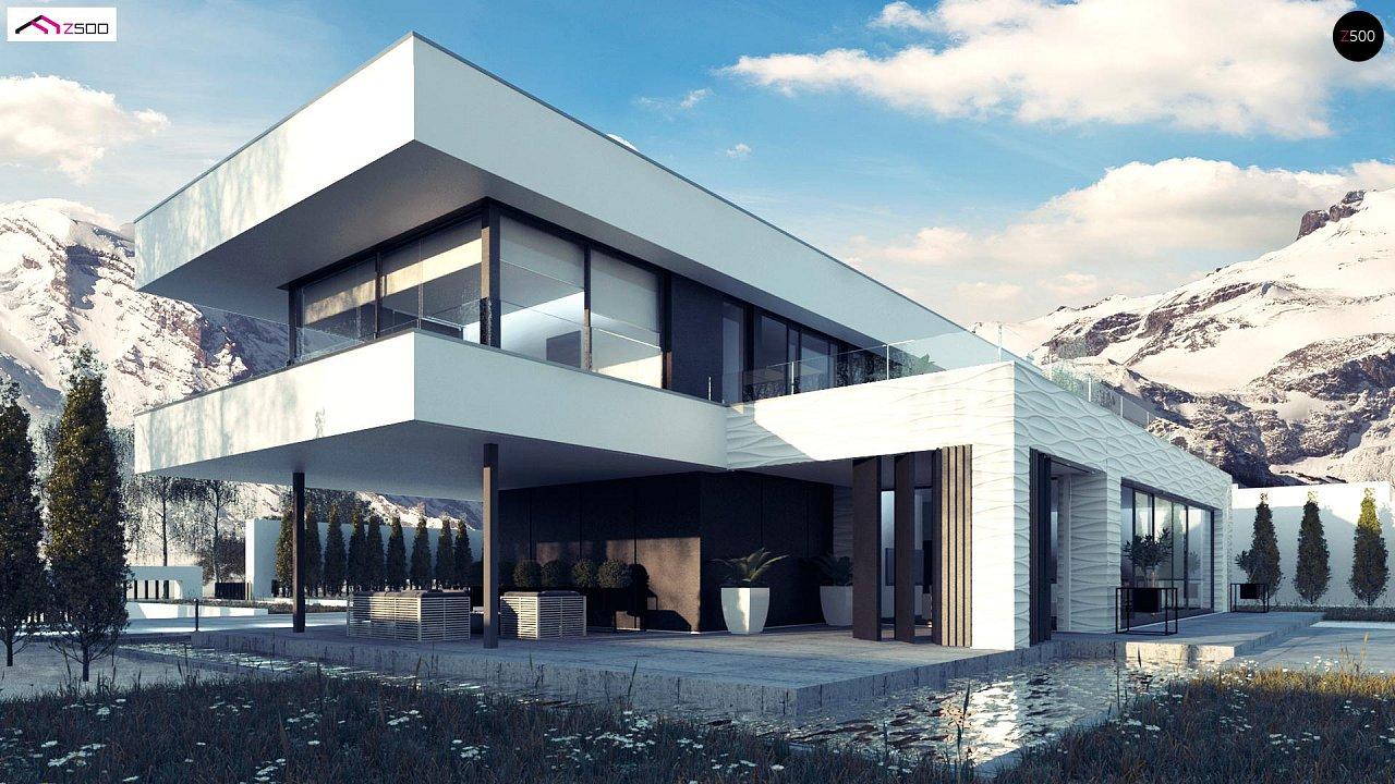 Просторный современный двухэтажный дом 4