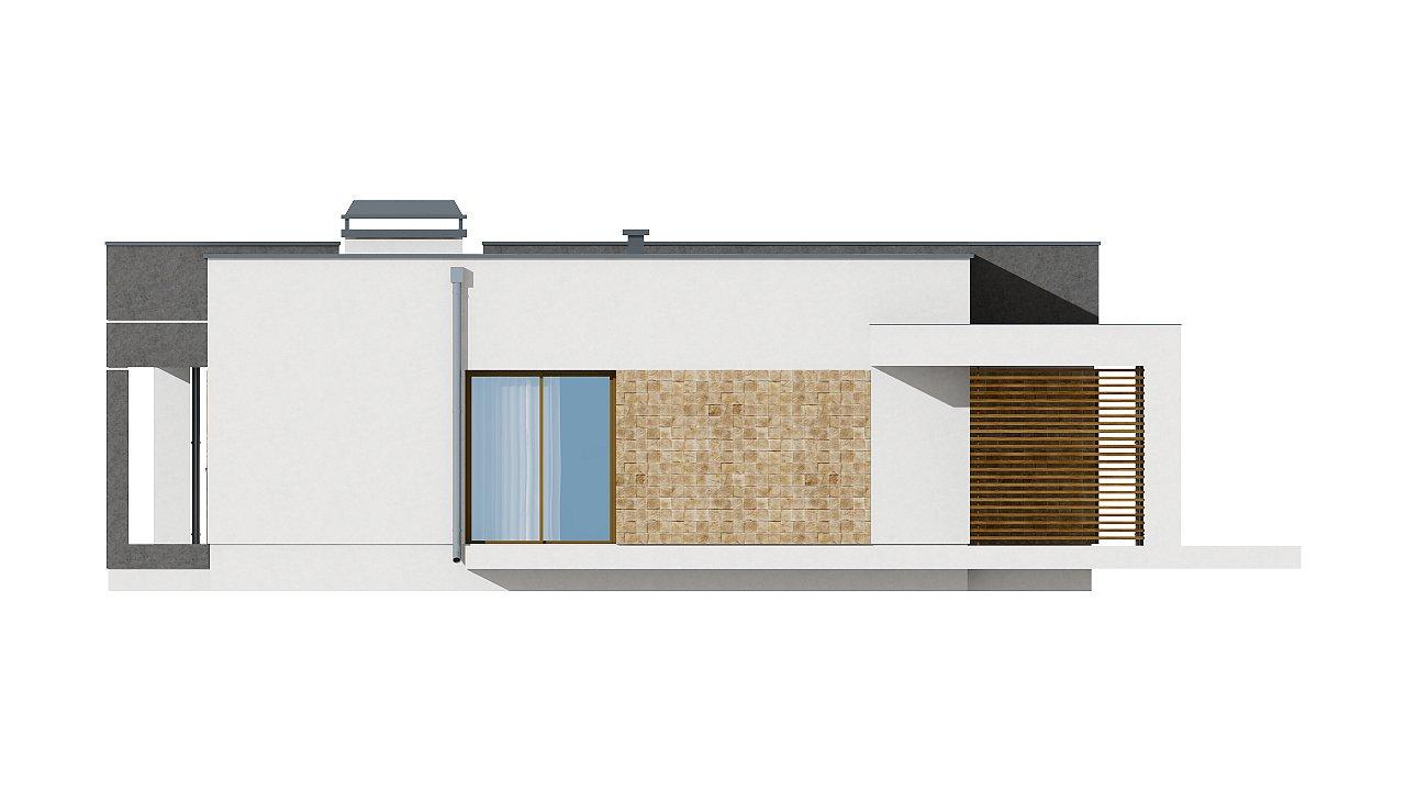 Небольшой дом из газобетона в стиле хай-тек — элегантный, практичный и экономичный. - фото 22