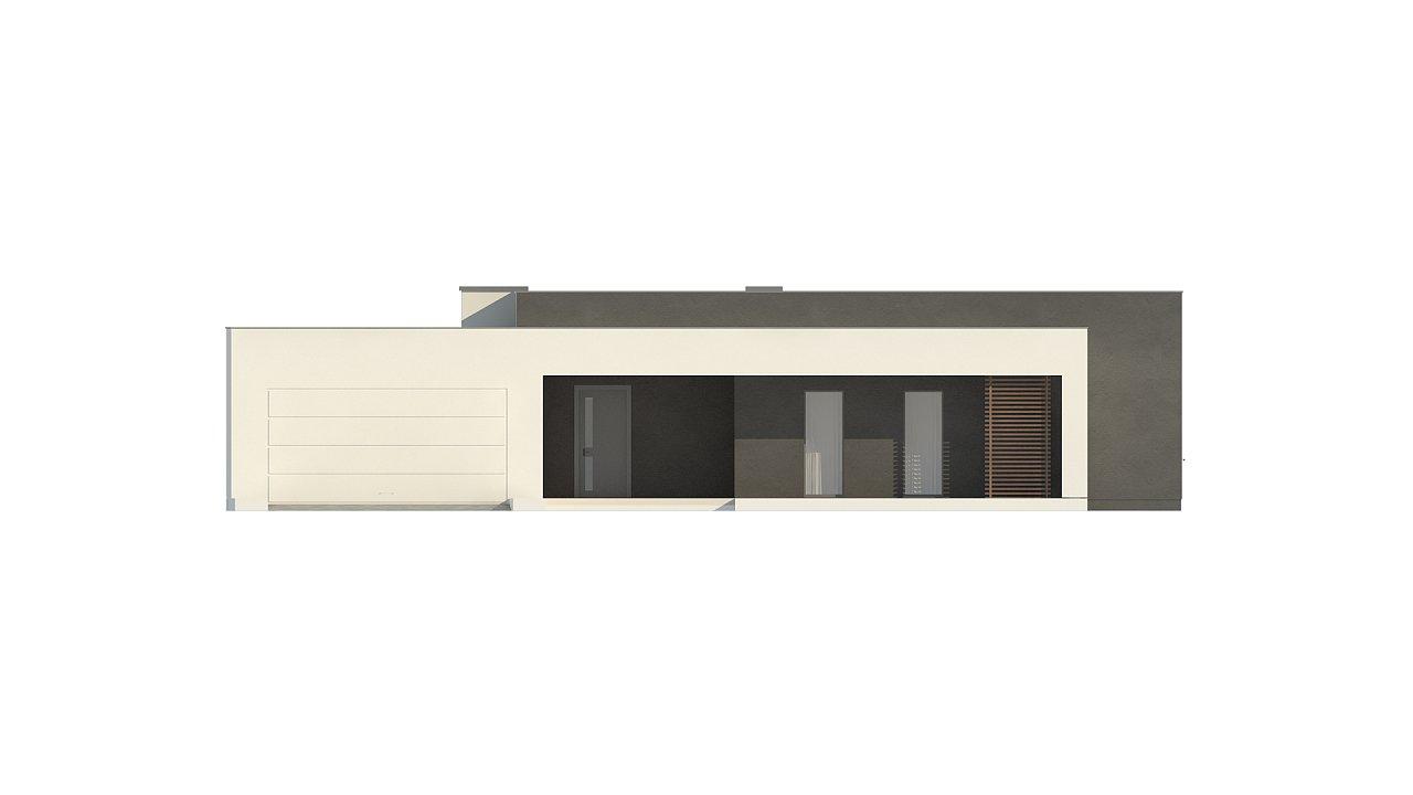Современный дом с 4 спальнями, гаражом на 2 машины и большими окнами 18